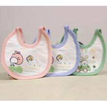 Waterproof Animal Printing Soft Baby Bib