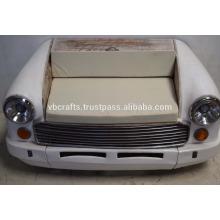 Sofá do carro antigo Indian Ambassador Car