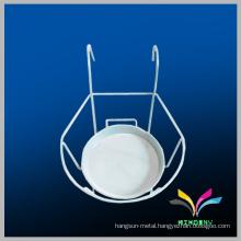 China supplier wholesale cheap good quality durable metal single tier wall mounted bathroom shelf