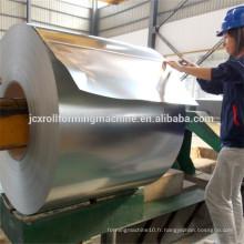 Décoiler bobine en acier 10t haute qualité