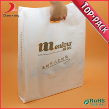 Die Cut Poly Handle Bag com Gusset