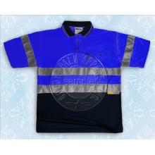 Рубашка поло с коротким рукавом с отражающей лентой