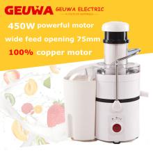 Geuwa 450W poderoso Juicer em bom design