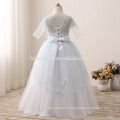 Kids princess flower baby girl wedding dress muslim wedding dress wholesale