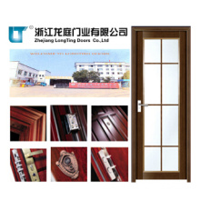 Waterproof Aluminum Interior Bathroom Door