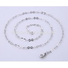 2016 Новый дизайн Простые ювелирные изделия из нержавеющей стали цепи ожерелье BSL003