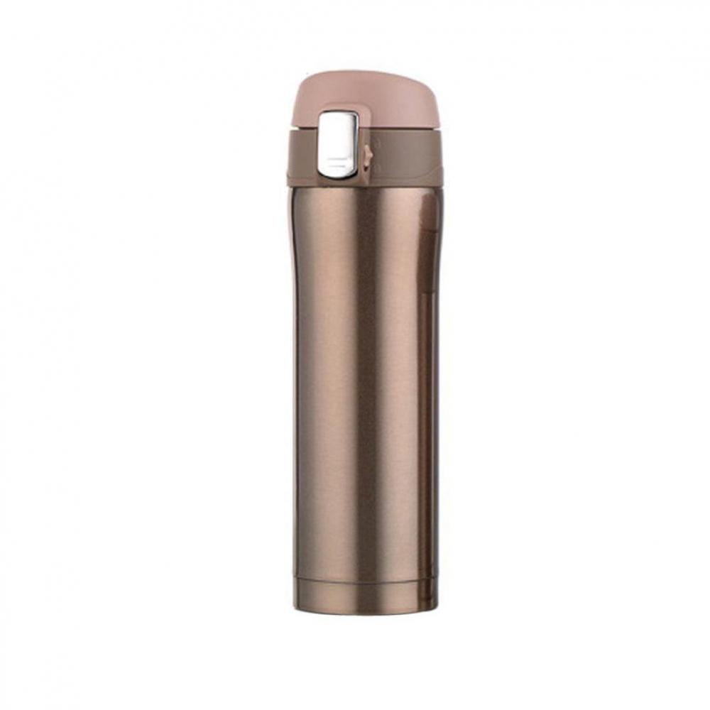 Double Wall Insulated Water Bottle Travel Sport Mug