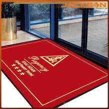 Tapis de sol de logo imprimé de bonne qualité fait sur commande
