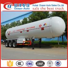China Lieferant 3 Achsen LPG Transport Anhänger zum Verkauf