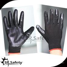 SRSAFETY черные нитриловые перчатки малайзии