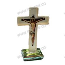 Красивые хрустальные кресты религиозных украшений