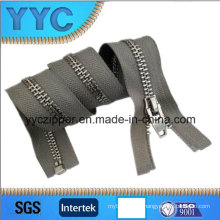 Y Teeth Gold Slider Metal Zipper for Garment