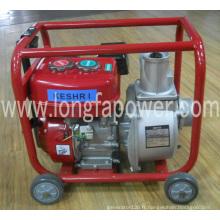 Pompe à eau de kérosène de 2 pouces avec poignées et roues