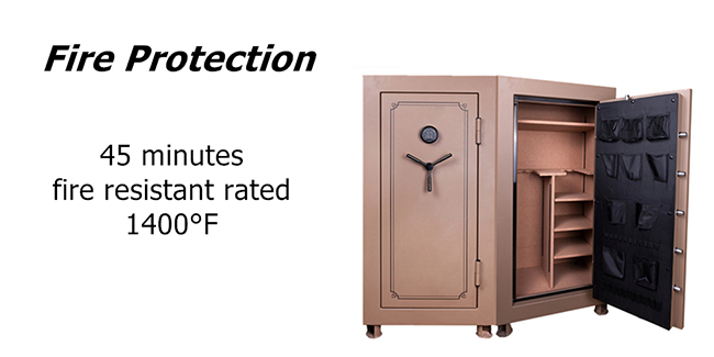 High quality and heavy gun safe