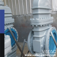 Gear Operated Wcb/Lcb RF Flanged Cast Slab Gate Valve