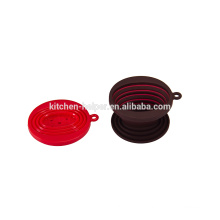 Hot-Selling Heat-Resistant Food Grade Collapsible Silicone Coffee Filter