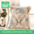 Square Custom Flower Printing Backrest Cushion