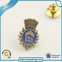 Custom Enamel Metal Round Lapel Pin Badge