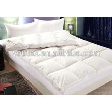 polyester filing mattress topper /mattress pad for hotel use