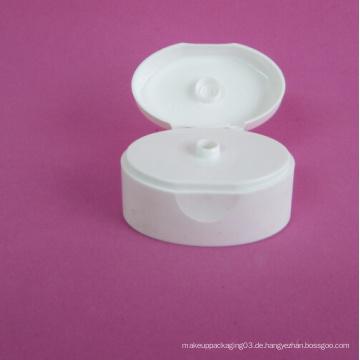 30mm Oval Flip Top Cap ohne Kosmetik Tube
