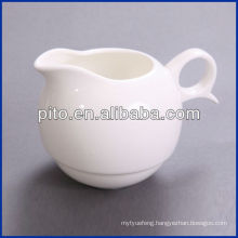 PT-16610 white porcelain milk pot