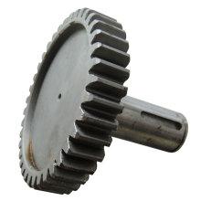 CNC que trabaja a máquina piezas del equipo minero
