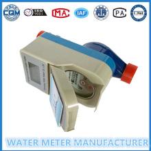 Contador de agua prepago Medidor de flujo digital de agua Dn15-25