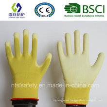 13G Nylon PU Top Fit Work Glove (SL-PU201Y)