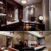 Antique Design Hotel Furniture Bedroom Set (EMT-SKA07)