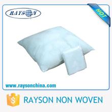 Funda de almohada no tejida desechable de sensación suave para la funda de almohada