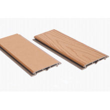 Eco-friendly Park Partition Wpc Wall Panel , 112x15mm Composite Panel Roof