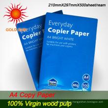 2013 Mixed Pulp Office A4 copy paper 80G