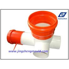 Moule de système de tuyau de drainage d'U-PVC vérifié par ISO