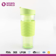 2017 New Product Christmas Gift Double Wall Insert Plastic Tumbler For Tea/Coffee/Juice