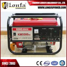Gerador de Gasolina de Potência Kingmax Portátil Km5500dx