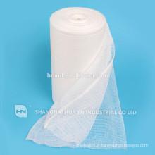 Rouleau de gaze absorbant blanchiment médical de haute qualité