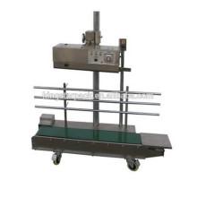 Einfache Bedienung Edelstahl kontinuierliche automatische SiegelmaschineDBF-1300