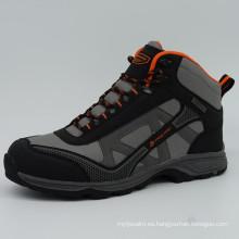 Nuevos zapatos de trekking de los hombres del diseño al aire libre que van de excursión los zapatos con impermeable