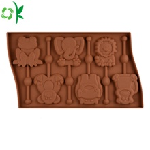 Molde animal do chocolate do silicone da forma para a venda