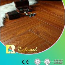 12.3 mm en relieve hickory encerado filo Lamiante piso