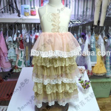 Wholesale lovely lace wedding dress for toddlers