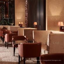 Ensemble de chaise de table pour restaurant moderne Western Style Cafe (SP-CS152)