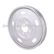 Tricycle steel wheel rims chrome