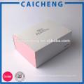 Boîte de papier fait main de bonne qualité d'OEM avec la douille pour le cadeau