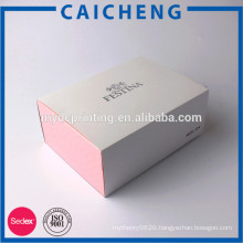 OEM good quality handmade paper box with sleeve for gift