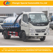 2 Axles Foton Fecal Suction Truck Fecal Suction Tank Truck
