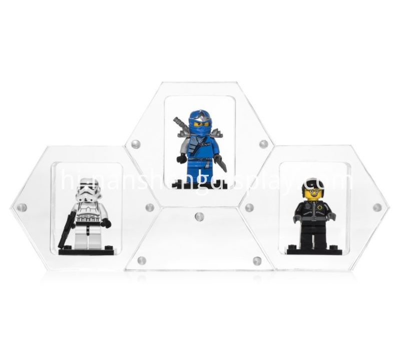 Clear Mini Figure Display