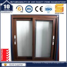 Алюминиевое раздвижное окно серии 100f с Crimsafe Flyscreen