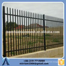 Baochuan fabulosa cerca de acero de alta calidad / hierro forjado / cerca de aluminio