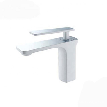 Fashion elegance one hole single handle hot and cold water bathroom basin tap